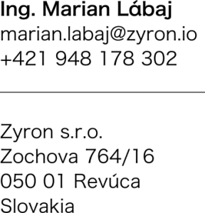 ZYRON contact